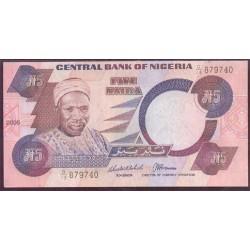 Nigeria 5 Naira PK 24i (2.005) S/C