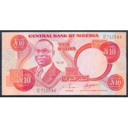 Nigeria 10 Naira PK 25f (2.002) S/C