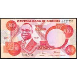 Nigeria 10 Naira PK 25h (2.004) S/C