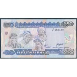 Nigeria 50 Naira PK 27b (1.991) S/C