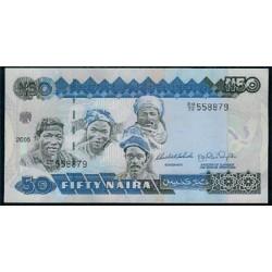 Nigeria 50 Naira PK 27e (2004) S/C