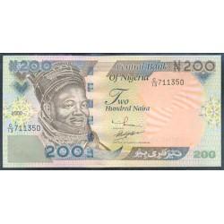 Nigeria 200 Naira PK 29a (2.000) S/C