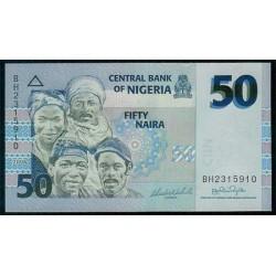 Nigeria 50 Naira PK 35 (2.006) S/C