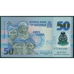 Nigeria 50 Naira PK 40a (2.009) S/C