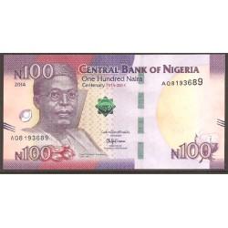 Nigeria 100 Naira PK Nuevo (2.014) S/C