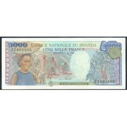 Ruanda 5.000 Francos PK 22 (1-1-1.988) S/C