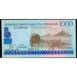 Ruanda 1.000 Francos PK 27 (1-12-1.998) S/C