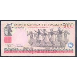 Ruanda 5.000 Francos PK 28 (1-12-1.998) S/C