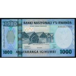 Ruanda 1.000 Francos PK 31a (1-7-2.004) S/C