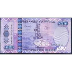 Ruanda 2.000 Francos PK 32 (31-10-2.007) S/C