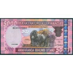 Ruanda 5.000 Francos PK 33b (1-2-2.009) S/C