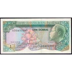 Santo Tomé y Príncipe 100 Dobras Pk 60 (4-1-1.989) S/C