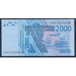 Senegal (Est. Afric. del Oeste) 2.000 Francos PK 716 Kb (2.004) S/C