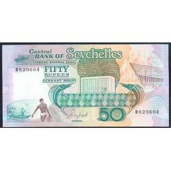 Seychelles 50 Rupias PK 34 (1.989) S/C