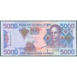 Sierra Leona 5.000 Leones PK 27a (1-2-2.002) S/C