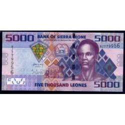 Sierra Leona 5.000 Leones PK 32 (27-4-2.010) S/C