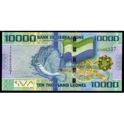 Sierra Leona 10.000 Leones PK 33 (27-4-2.010) S/C