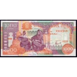 Somalia 1.000 Shilings PK 37b (1.996) S/C