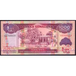Somalilandia 1.000 Shillings PK 20 (2.011) S/C