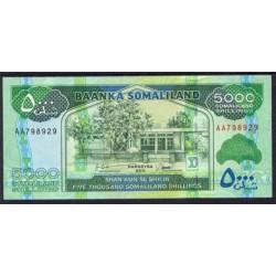 Somalilandia 5.000 Shillings PK 21 (2.011) S/C