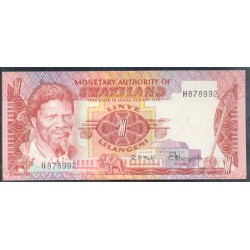 Suazilandia 1 Lilangeni Pk 1 (1.974) S/C