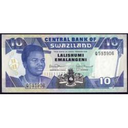 Suazilandia 10 Emalangeni Pk 20b (1.992) S/C