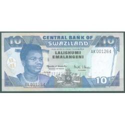 Suazilandia 10 Emalangeni Pk 24c (1-4-1.998) S/C