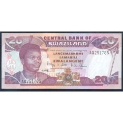 Suazilandia 20 Emalangeni Pk 30a (1-4-2.001) S/C