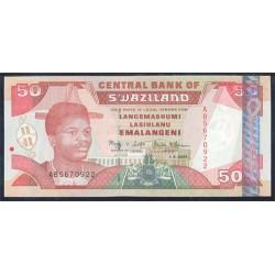 Suazilandia 50 Emalangeni Pk 31a (1-4-2.001) S/C