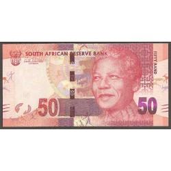 Sudáfrica 50 Rand Pk 135 (2.012). Mandela S/C