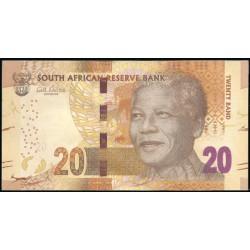 Sudáfrica 20 Rand Pk 138 (2.014). Mandela S/C