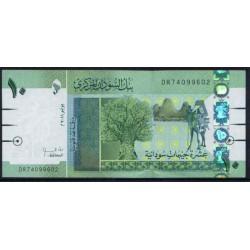 Sudán 10 Libras PK 73 (6-2.011) S/C