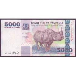 Tanzania 5.000 Shilingi Pk 38 (2.003) S/C