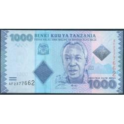 Tanzania 1.000 Shilingi Pk 41(2.010) S/C