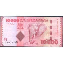 Tanzania 10.000 Shilingi Pk 44 (2.010) S/C