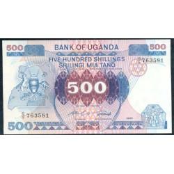 Uganda 500 Shillings PK 25 (1.986) S/C