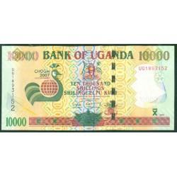 Uganda 10.000 Shillings PK 48 (2.007) S/C