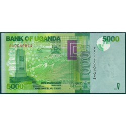 Uganda 5.000 Shillings PK 51 (2.010) S/C