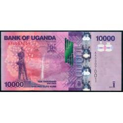 Uganda 10.000 Shillings PK 52 (2.010) S/C