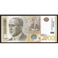 Serbia 2.000 Dinares PK 61a S/C