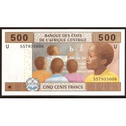 Camerún 500 Francos PK Nuevo (2.002) S/C