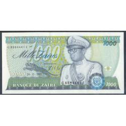 Zaire 1.000 Zaires PK 31 (24-11-1.985) S/C