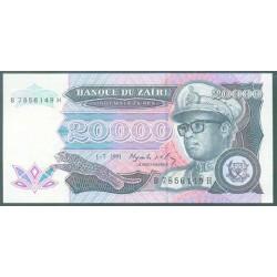 Zaire 20.000 Zaires PK 39 (1-7-1.991) S/C