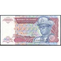 Zaire 50.000 Zaires PK 40 (24-4-1.991) S/C