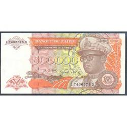 Zaire 500.000 Zaires PK 43 (15-3-1.992) S/C
