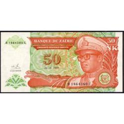 Zaire 50 Nuevas Makutas PK 51 (1.993) S/C