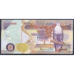 Zambia 5.000 Kwachas PK 45b (2.005) S/C