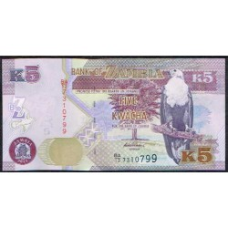 Zambia 5 Kwacha PK 50 (2.012) S/C