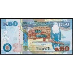 Zambia 50 Kwacha PK 53 (2.012) S/C