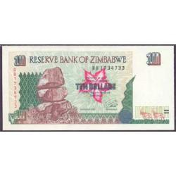 Zimbabwe 10 Dólares PK 6 (1.997) S/C